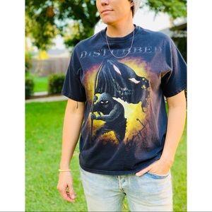 Vintage 2000's Disturbed Grim Reaper 2-Sided Shirt